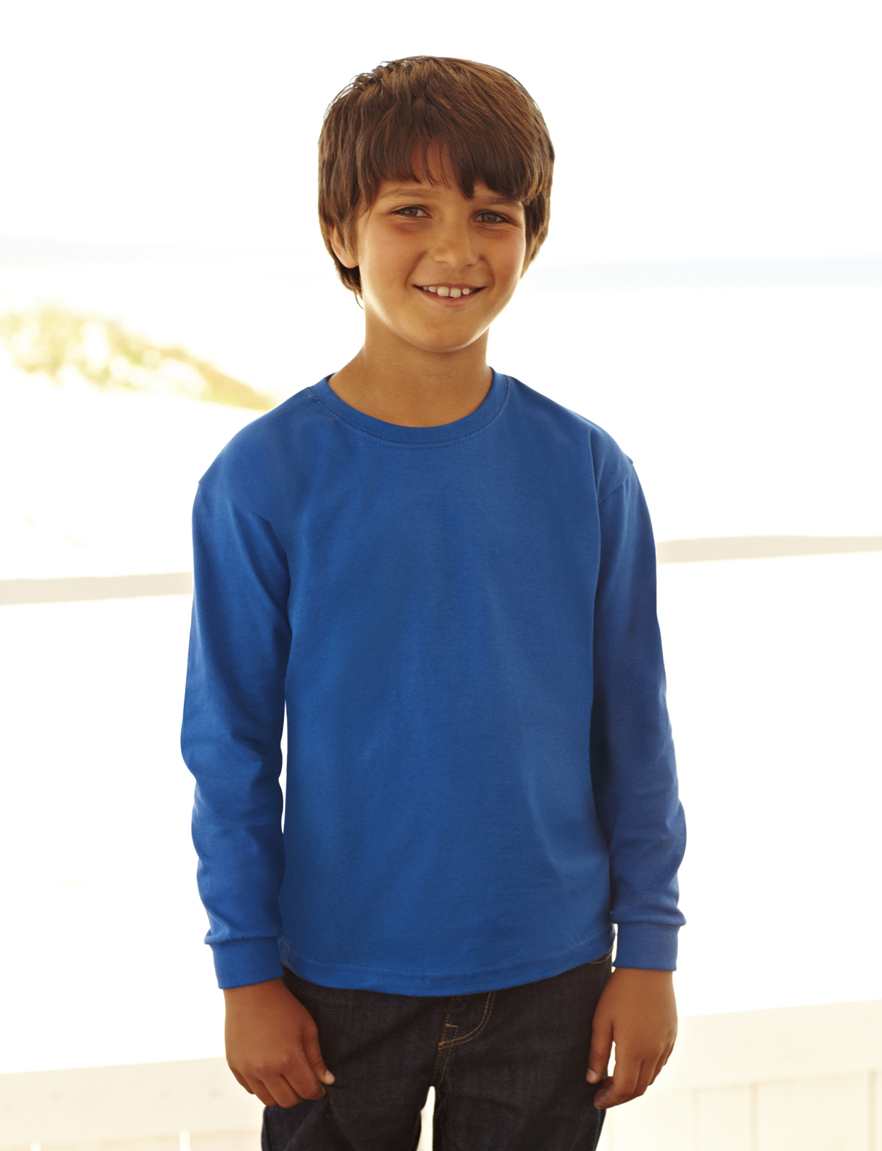 274d90a2f Fruit of the Loom Kids Long Sleeve Valueweight T-G.S.Mahal & Co. Ltd