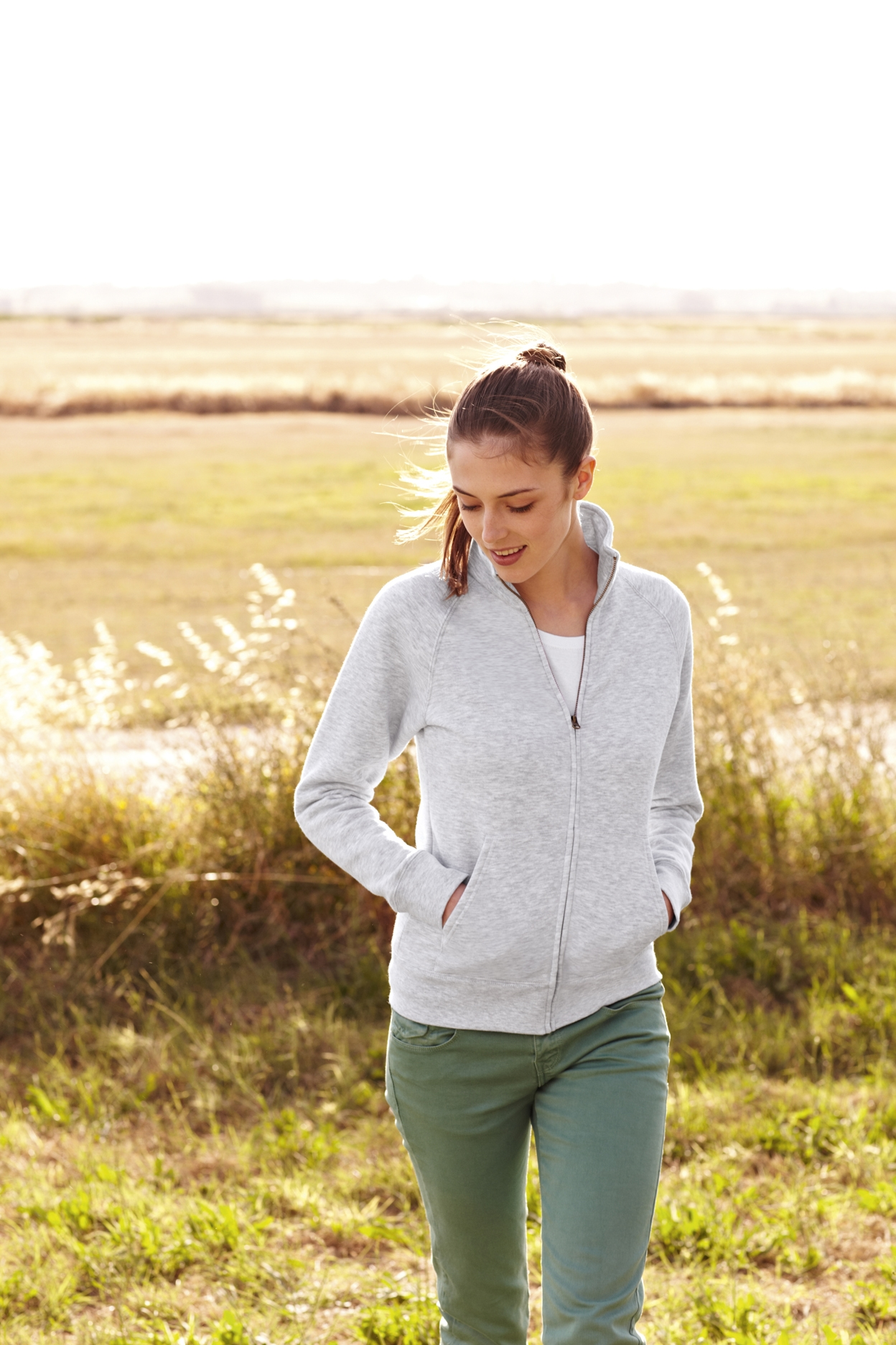 Fruit of the Loom Ladyfit Sweat Jacket