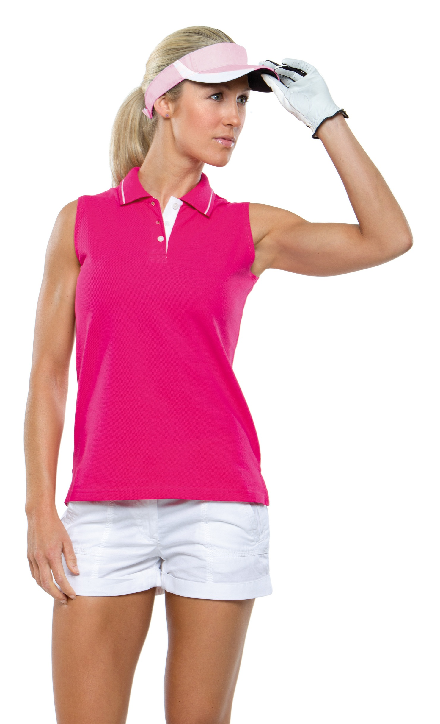 Cotton Polo Shirts Womens