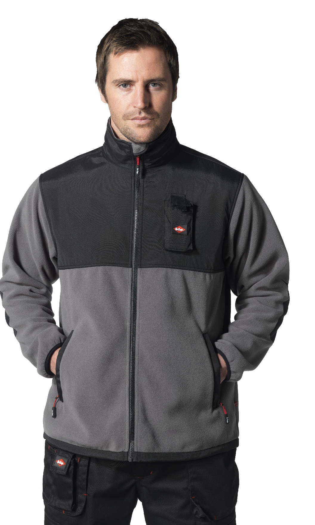 Lee Cooper Workwear Functional Polar Fleece Jacket-G.S.Mahal &amp Co. Ltd