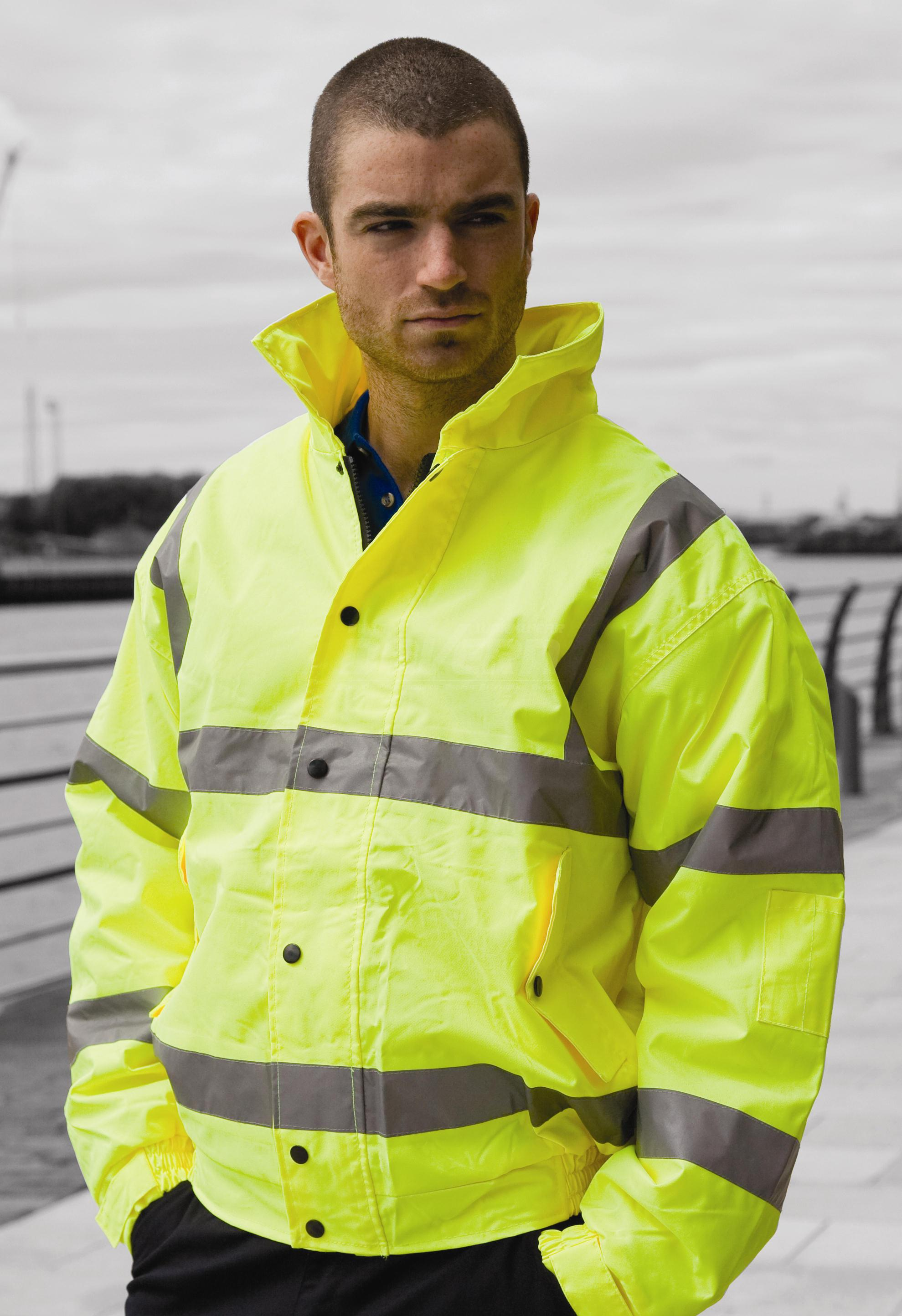 Harbour Lights Hi Vis Safety Bomber Jacket G S Mahal Amp Co Ltd