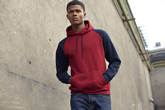 Fruit of the Loom New Baseball Hooded Sweat