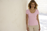 Fruit of the Loom Ladyfit Lightweight Scoop-neck T